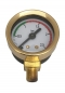 Preview: PAVONI MANOMETER DURCHLAUFERH. ø41 mm 0÷2,5 bar - GOLD