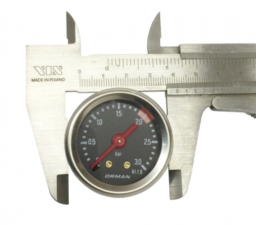 MANOMETER FÜR KESSEL ø 39 mm 0÷3 bar