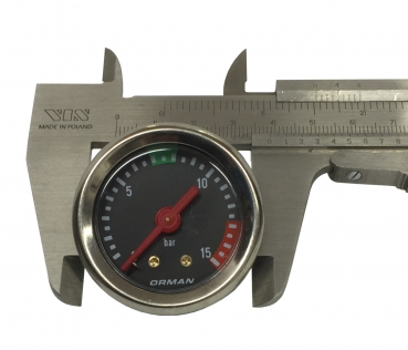 MANOMETER FÜR PUMPE ø 39 mm 0÷15 bar
