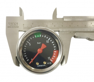 MANOMETER FÜR PUMPE ø 49 mm 0÷15 bar