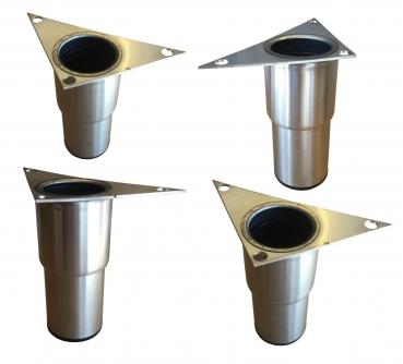 Rohrwalze für Quadratrohr 36x36 mm 4 Stück
