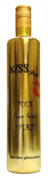 CIEMME Vodka al Caramello 0,7 L Kiss Mou - 27% Vol.